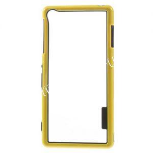Чехол-бампер силиконовый для Sony Xperia Z3 / Z3 Dual (желтый)