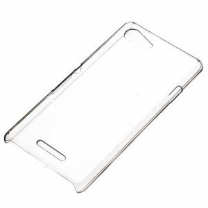 Чехол-накладка пластиковый для Sony Xperia E3 / E3 Dual (прозрачный)