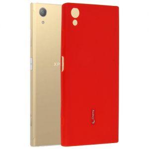 Чехол-накладка силиконовый для Sony Xperia XA1 Plus / Dual (красный) Cherry