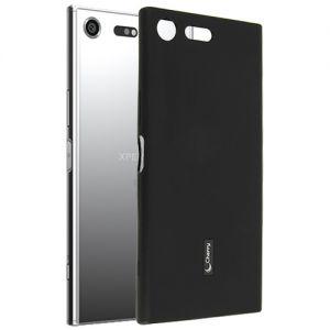 Чехол-накладка силиконовый для Sony Xperia XZ Premium / Dual (черный) Cherry