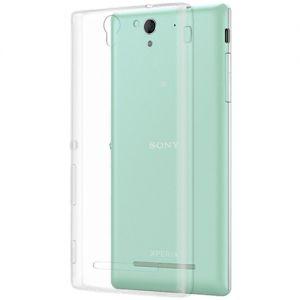 Чехол-накладка силиконовый для Sony Xperia C3 / C3 Dual (прозрачный 0.5мм)