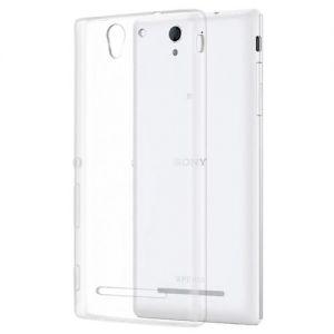 Чехол-накладка силиконовый для Sony Xperia C3 / C3 Dual (прозрачный 1.0мм)