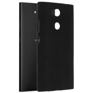 Чехол-накладка силиконовый для Sony Xperia L2 / L2 Dual (черный 0.8 мм)