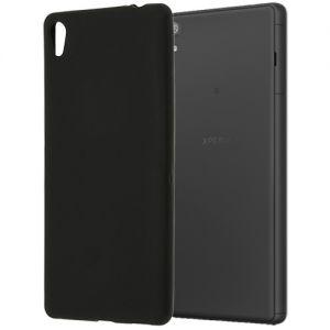 Чехол-накладка силиконовый для Sony Xperia XA Ultra / Dual (черный 0.8мм)