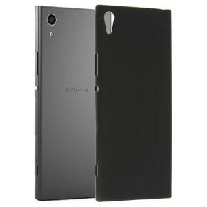 Чехол-накладка силиконовый для Sony Xperia XA1 / XA1 Dual (черный 0.8мм)