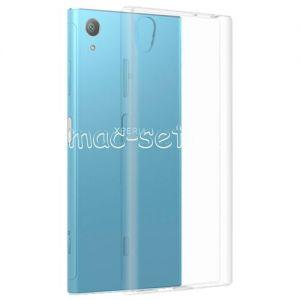 Чехол-накладка силиконовый для Sony Xperia XA1 Plus / Dual (прозрачный 0.5мм)