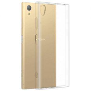 Чехол-накладка силиконовый для Sony Xperia XA1 Plus / Dual (прозрачный 1.0мм)