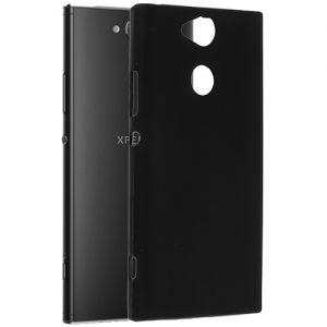 Чехол-накладка силиконовый для Sony Xperia XA2 / XA2 Dual (черный 0.8мм)