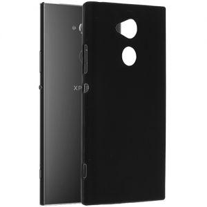 Чехол-накладка силиконовый для Sony Xperia XA2 Ultra / Dual (черный 0.8мм)