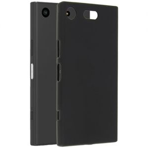 Чехол-накладка силиконовый для Sony Xperia XZ1 Compact (черный 0.8мм)