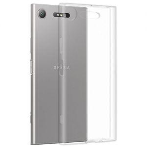 Чехол-накладка силиконовый для Sony Xperia XZ1 / XZ1 Dual (прозрачный 1.0мм)