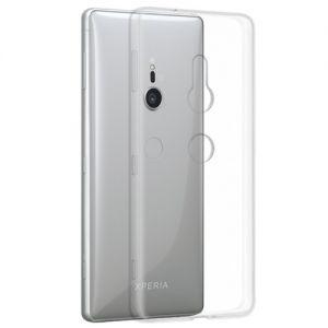 Чехол-накладка силиконовый для Sony Xperia XZ2 / XZ2 Dual (прозрачный 1.0мм)