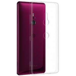 Чехол-накладка силиконовый для Sony Xperia XZ3 / XZ3 Dual (прозрачный 1.0мм)
