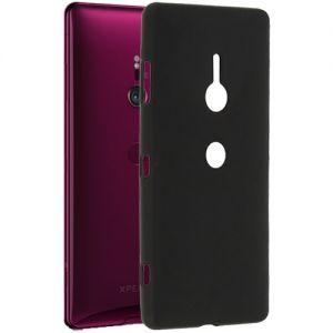 Чехол-накладка силиконовый для Sony Xperia XZ3 / XZ3 Dual (черный 0.8мм)