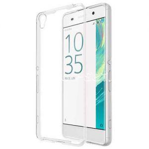 Чехол-накладка силиконовый для Sony Xperia XA / XA Dual (прозрачный 0.3мм)