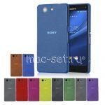 Чехол-накладка пластиковый для Sony Xperia Z3 Compact ультратонкий