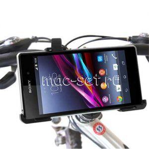 Велодержатель для Sony Xperia Z1 на руль (черный)