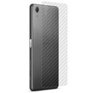 "Защитная наклейка для Sony Xperia X Performance / Dual ""карбон"" [задняя] (прозрачная)"