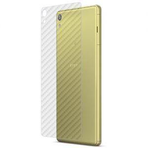 Защитная наклейка для Sony Xperia XA Ultra / Dual карбон [задняя] (прозрачная)