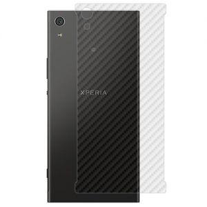 "Защитная наклейка для Sony Xperia XA1 Ultra / Dual ""карбон"" [задняя] (прозрачная)"
