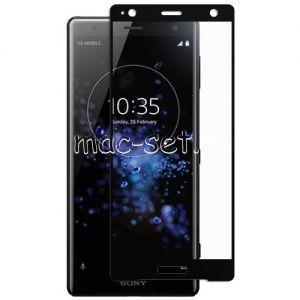 Защитное стекло для Sony Xperia XZ2 / XZ2 Dual [на весь экран] Aiwo (черное)