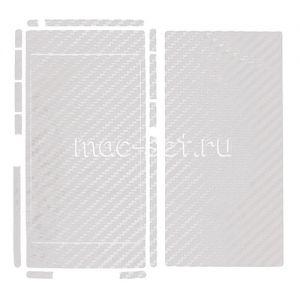 "Виниловая наклейка ""карбон"" для Sony Xperia Z1 [комплект] (белая)"