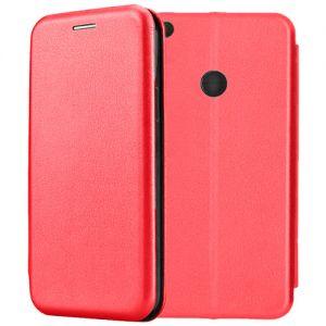 Чехол-книжка кожаный для Xiaomi Mi Max 2 (красный) Book Case Fashion