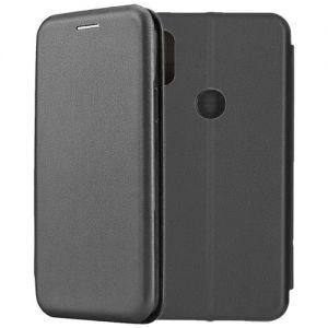 Чехол-книжка кожаный для Xiaomi Mi Mix 2S (черный) Book Case Fashion