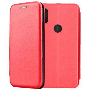 Чехол-книжка кожаный для Xiaomi Mi Mix 2S (красный) Book Case Fashion