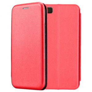 Чехол-книжка кожаный для Xiaomi Mi5 (красный) Book Case Fashion