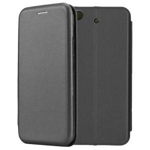 Чехол-книжка кожаный для Xiaomi Mi5s (черный) Book Case Fashion