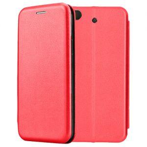 Чехол-книжка кожаный для Xiaomi Mi5s (красный) Book Case Fashion