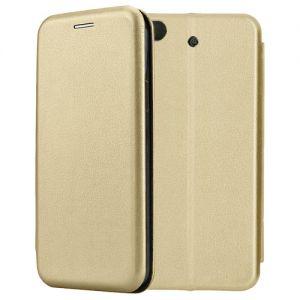 Чехол-книжка кожаный для Xiaomi Mi5s (золотистый) Book Case Fashion