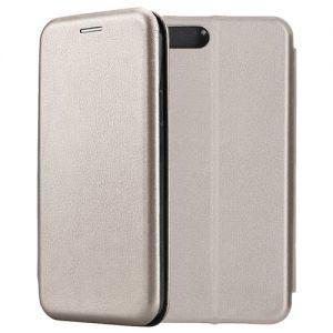 Чехол-книжка кожаный для Xiaomi Mi6 (серый) Book Case Fashion
