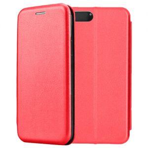 Чехол-книжка кожаный для Xiaomi Mi6 (красный) Book Case Fashion