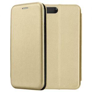 Чехол-книжка кожаный для Xiaomi Mi6 (золотитстый) Book Case Fashion