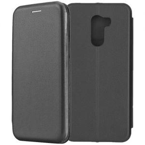 Чехол-книжка для Xiaomi Pocophone F1 (черный) Fashion Case