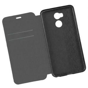 """Чехол-книжка кожаный для Xiaomi Redmi 4 Pro / Prime """"Book Case"""" (черный)"""
