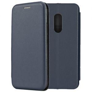 Чехол-книжка для Xiaomi Redmi Note 4 (синий) Fashion Case