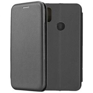 Чехол-книжка кожаный для Xiaomi Redmi S2 (черный) Book Case Fashion