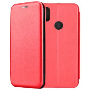 Чехол-книжка кожаный для Xiaomi Redmi S2 (красный) Book Case Fashion
