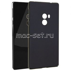 Чехол-накладка силиконовый для Xiaomi Mi Mix (черный 0.8мм) Soft-Touch