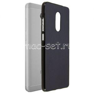 Чехол-накладка силиконовый для Xiaomi Redmi Note 4X (черный 0.8мм) Soft-Touch
