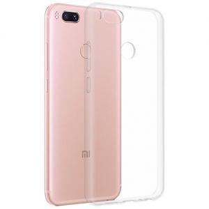 Чехол-накладка силиконовый для Xiaomi Mi A1 / Mi5x (прозрачный 1.0мм)