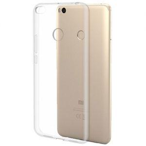 Чехол-накладка силиконовый для Xiaomi Mi Max 2 (прозрачный 1.0мм)