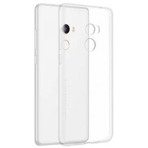 Чехол-накладка силиконовый для Xiaomi Mi Mix 2 [толщина 1.0 мм] (прозрачный)