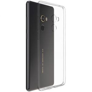 Чехол-накладка силиконовый для Xiaomi Mi Mix 2 [толщина 0.5 мм] (прозрачный)