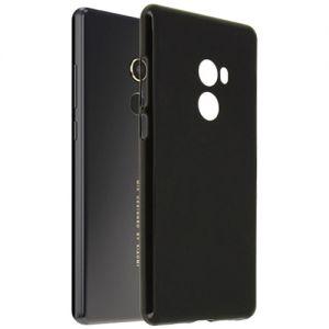 Чехол-накладка силиконовый для Xiaomi Mi Mix 2 (черный 0.8мм) Soft-Touch
