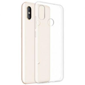 Чехол-накладка силиконовый для Xiaomi Mi8 (прозрачный 1.0мм)