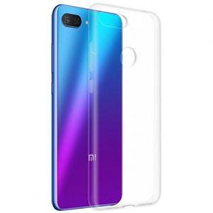 Чехол-накладка силиконовый для Xiaomi Mi8 Lite (прозрачный 1.0мм)